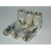 Connector PL-259A Silver - LMR400 - RG8 - Made in USA